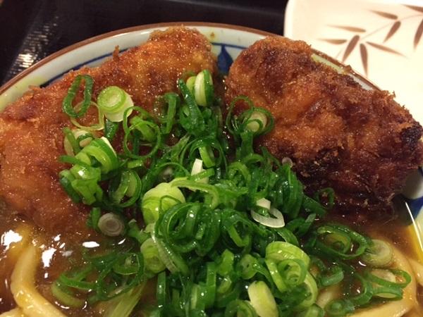 【期間限定】丸亀製麺 Wカツカレーうどんを食べてみました。