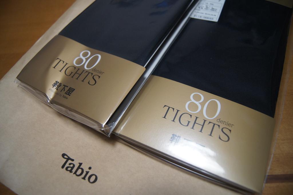 やっぱりいい!Tabio/タビオ 今年も買いました。
