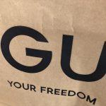 久々にGUでお買い物♪GU ウエストベルト デニムワイドパンツやマシュマロパンプスなど